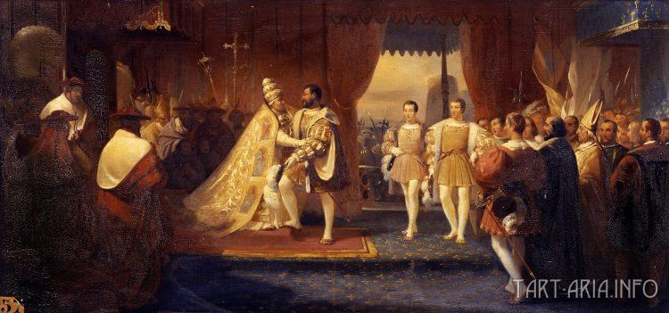 Франциск I и Климент VII