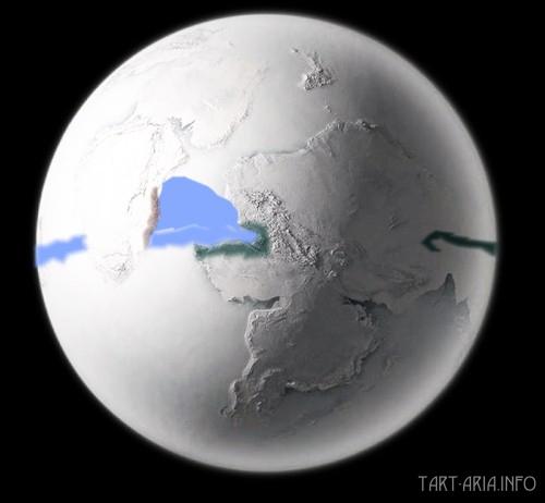 Земля-снежок