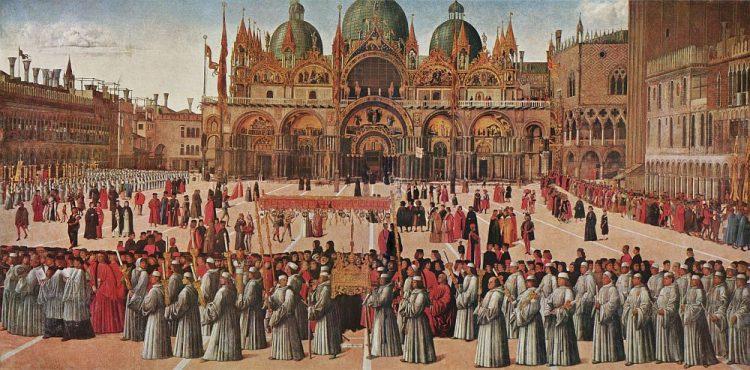 The Procession in St. Mark's Square