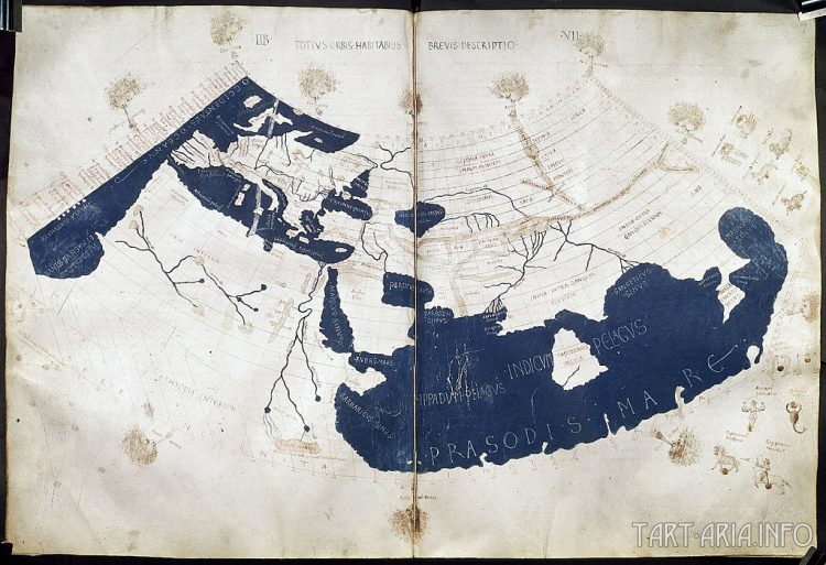 Карта Птолемея