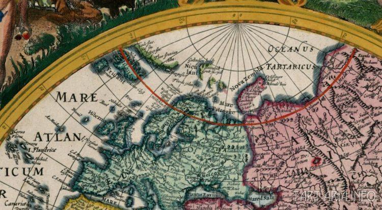 Гиперборея на старинных картах i_mar_a