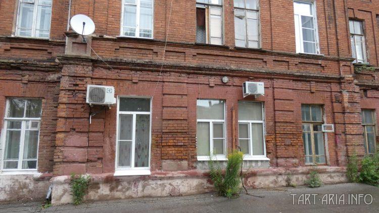 Фасад дома. Россия, Тула, Венёвское шоссе, 10
