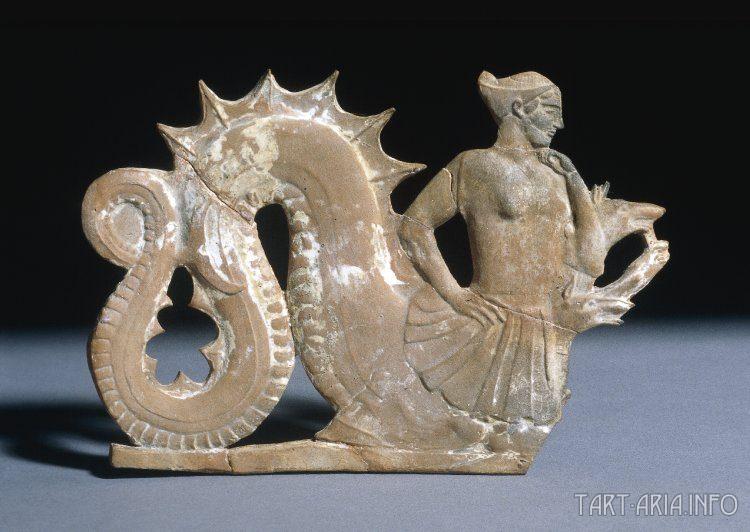 Сцилла. Статуэтка с острова Милос, Vв. до н.э. , Британский Музей, Лондон. Источник