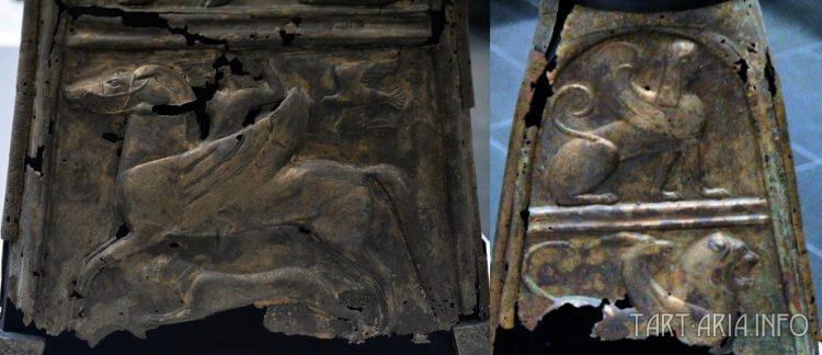 Фрагмент этрусской треноги из мюнхенской коллекции антиквариата. Источник