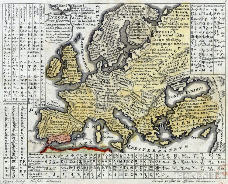 Europa Polyglotta, источник