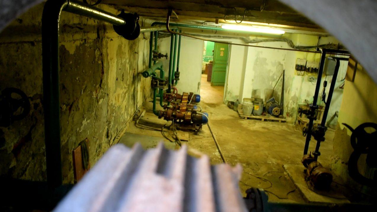 Казённый винный склад. Второй корпус. Котельная в нижнем этаже
