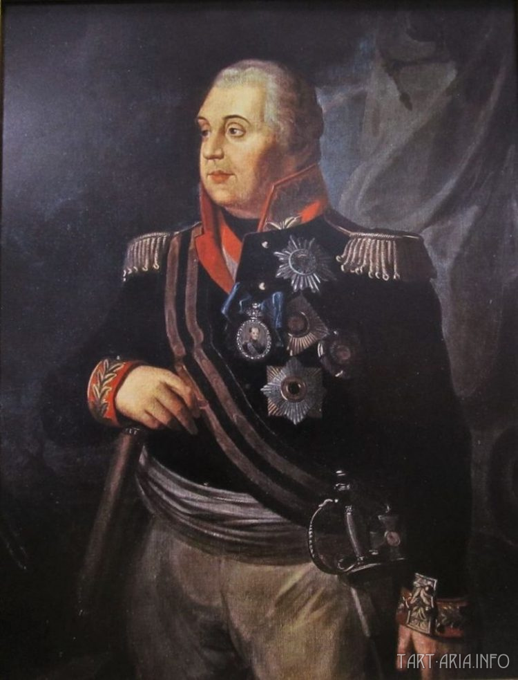 Портрет М. И. Кутузова. Р. М. Волков, между 1812 и 1830 гг. Источник