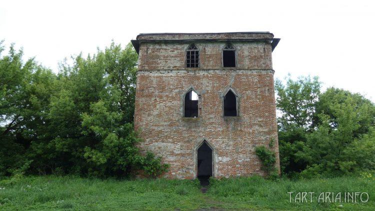 Сабуровская крепость. Дом охраны (Пугачёвскся башня)