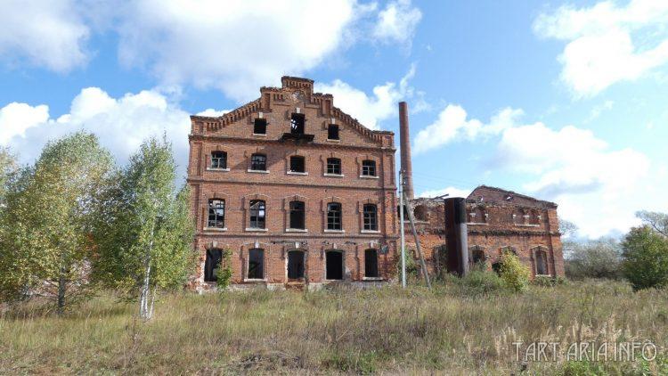 Винокуренный завод Качкова. Вид спереди