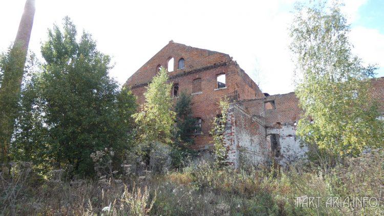 Винокуренный завод Качкова. Вид сзади