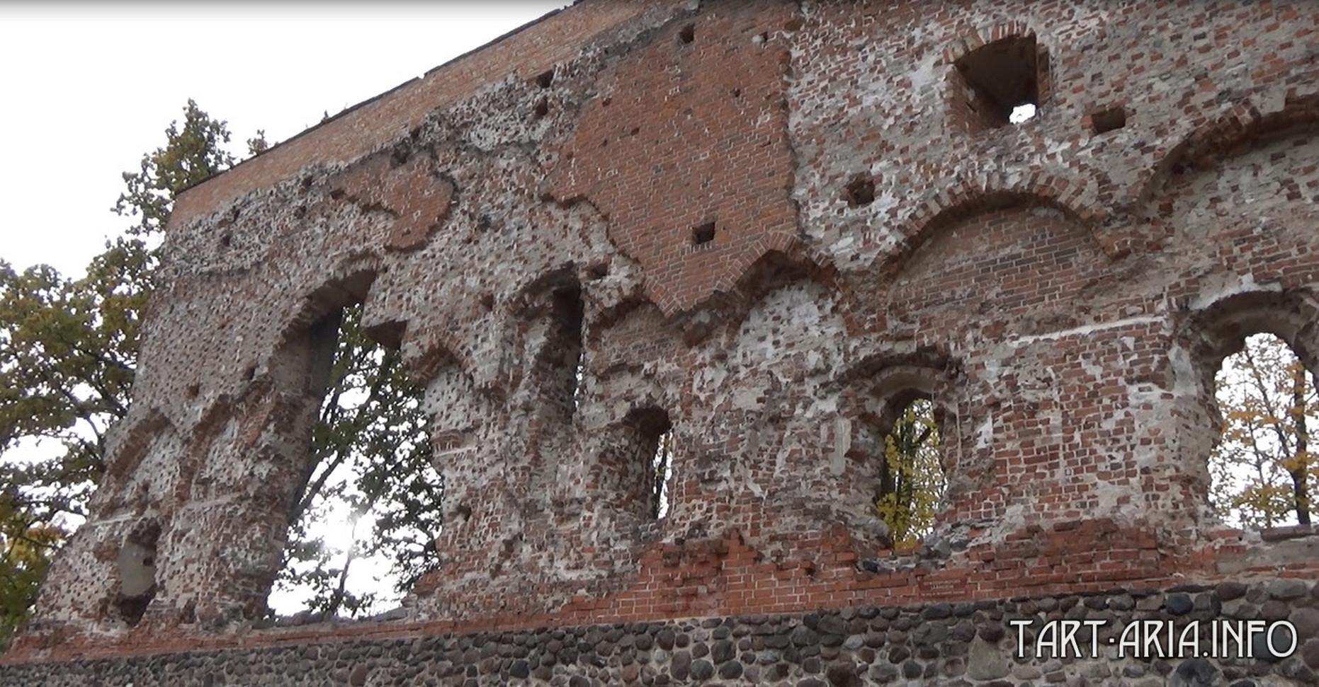 Замок Вильянди. Ворота из Варяг в Греки kadykchanskiy