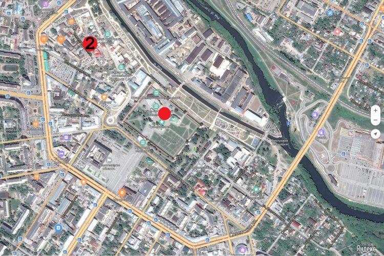 Поз. 2. Место раскопок в Черниковском переулке, летом 2018 года