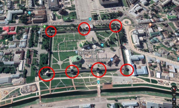 Тульский кремль. Вид с севера