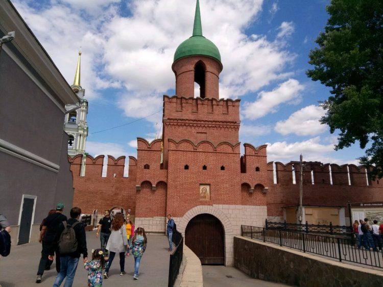 Тульский кремль. Башня Одоевских ворот