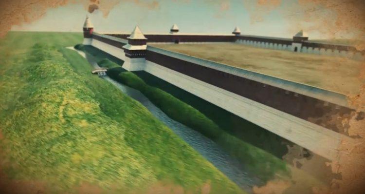Канал вокруг Тульского кремля