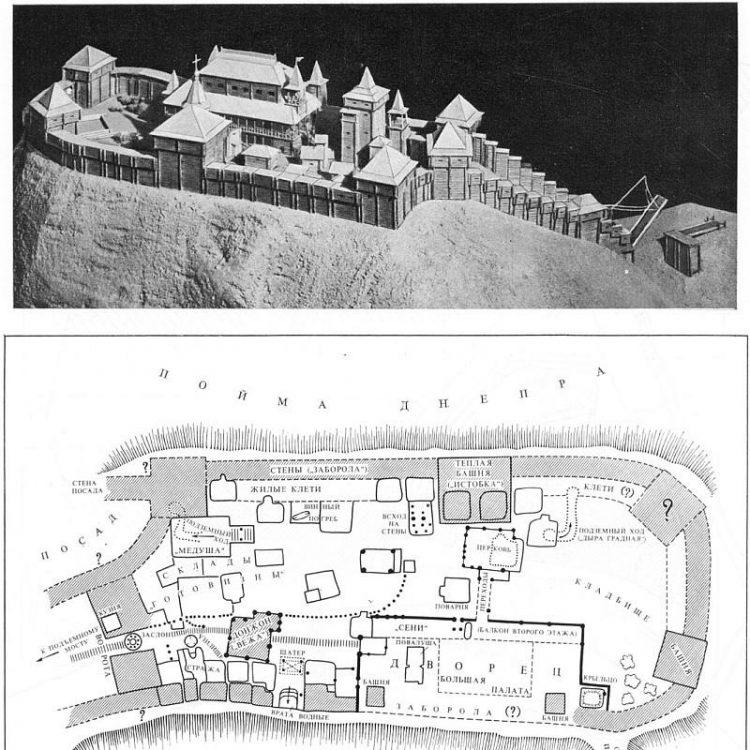 Крепость на крутом берегу