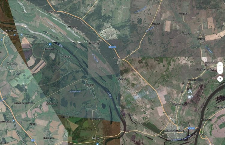 Участок Оки в районе Спасск-Рязанского