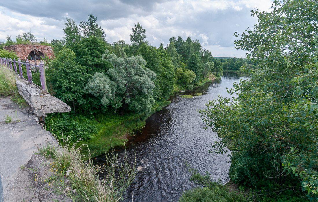Река Гусь, сейчас, это обычный ручей