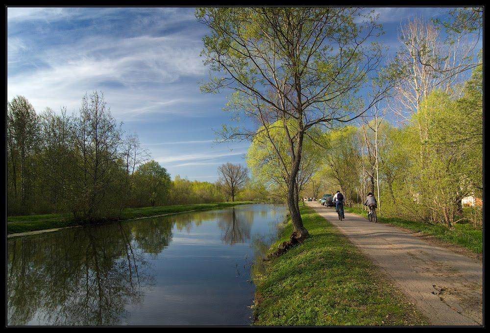 древние каналы Петергофа