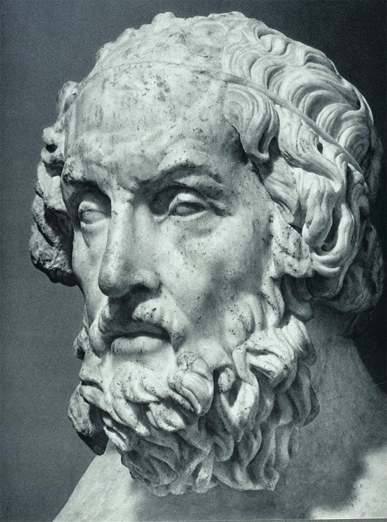 Гомер и Вальтер Скотт. Кем же реально был человек, создавший Илиаду и Одиссею? SKUNK69