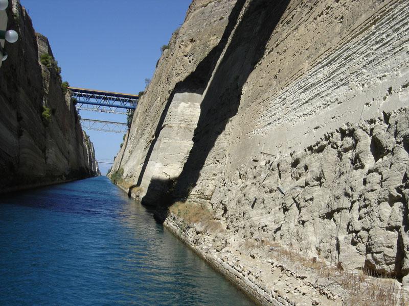 Коринфский  канал Сибвед Sibved